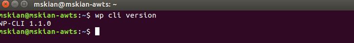 install WP-CLI on ubuntu