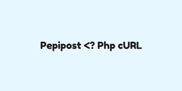 Send Pepipost Transactional Emails via PHP cURL