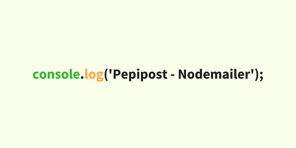 Send Pepipost Email Using Nodemailer